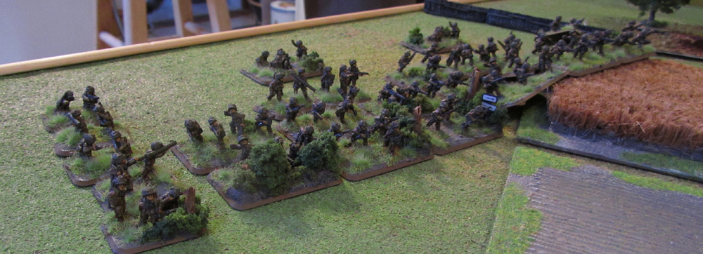 Flames of War After Action Report, German Grenadiers take on American Paratroopers